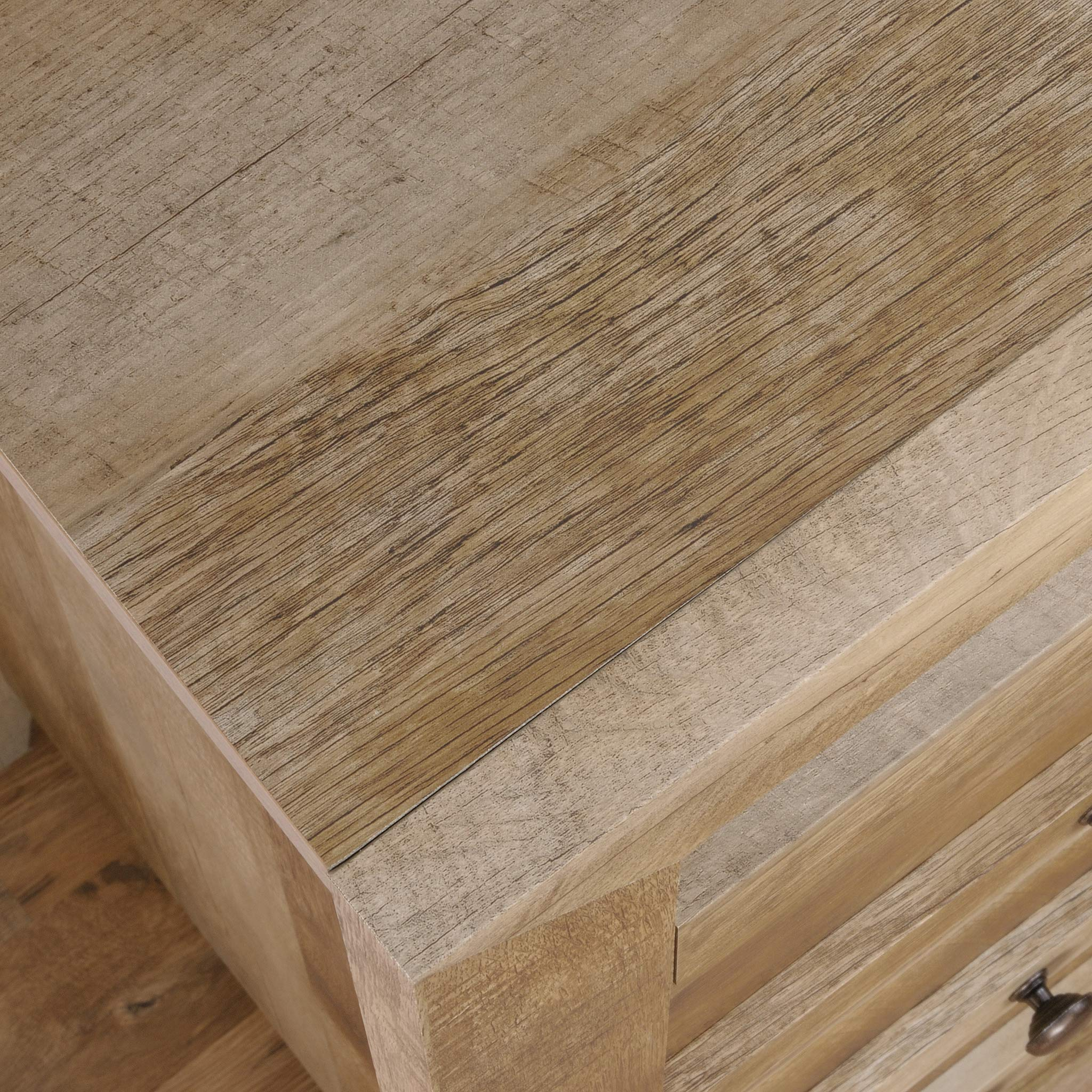 Sauder 418175 Dakota Pass 4-Drawer Chest, L: 32.68'' x W: 17.52'' x H: 43.23'', Craftsman Oak finish by Sauder (Image #9)