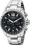 Citizen Men's CA4170-51E Shadowhawk Eco-Drive Stainless Steel Bracelet Watch