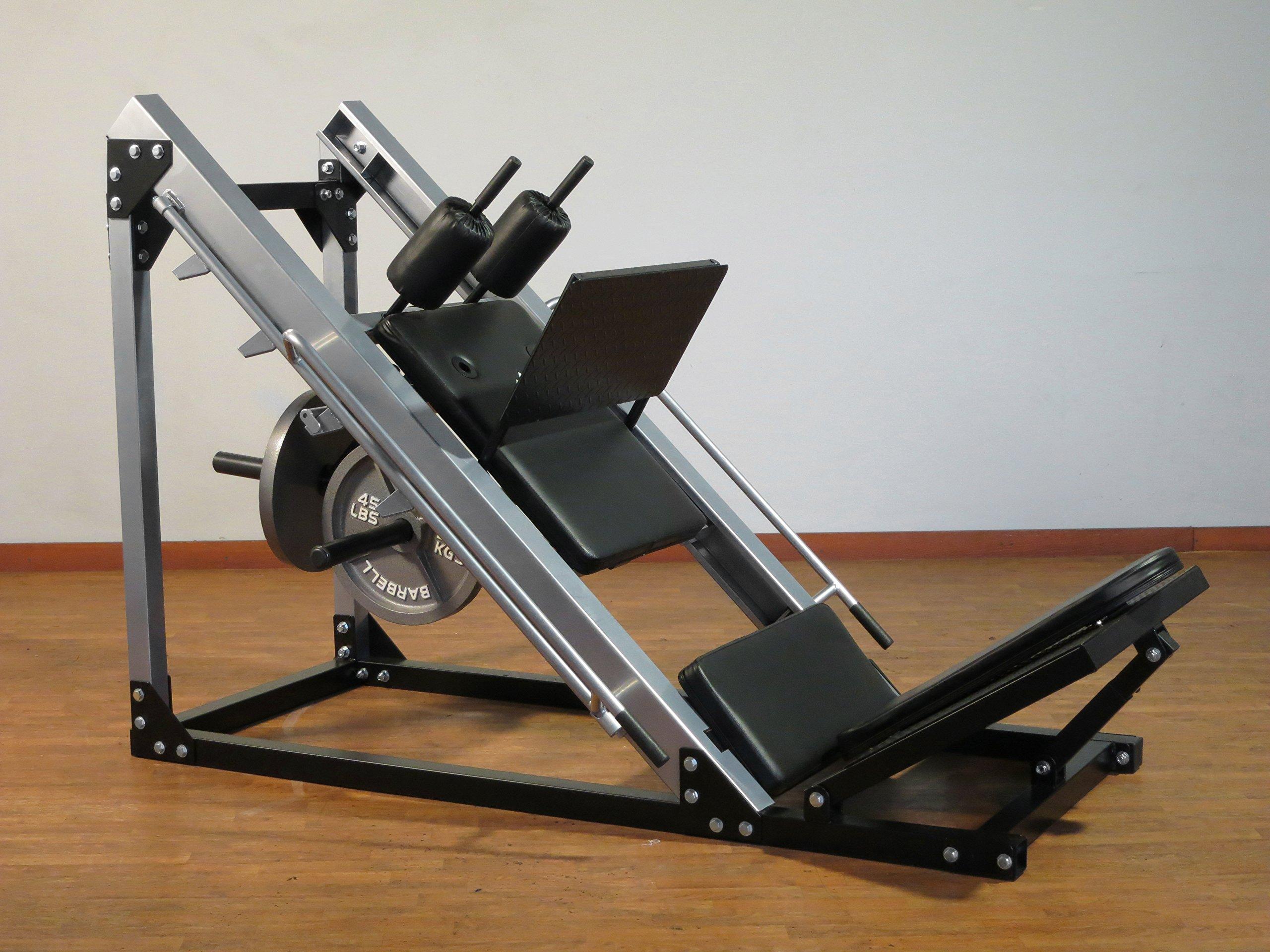 Model HLS2000 Hack Squat/Leg Press by Yukon Fitness