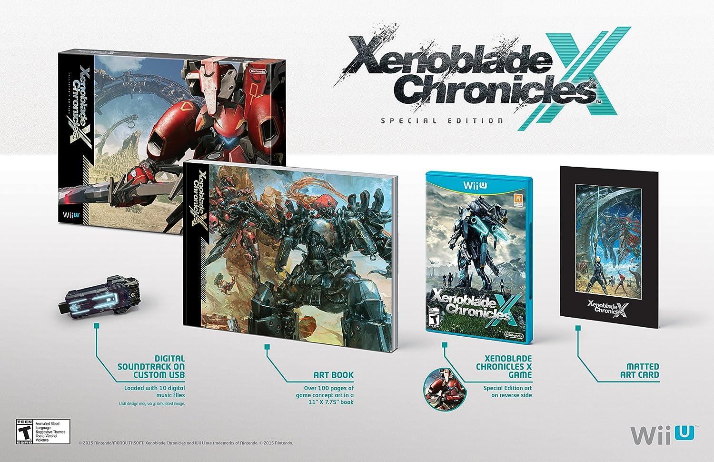 Amazon.com: Xenoblade Chronicles X Special Edition - Wii U ...