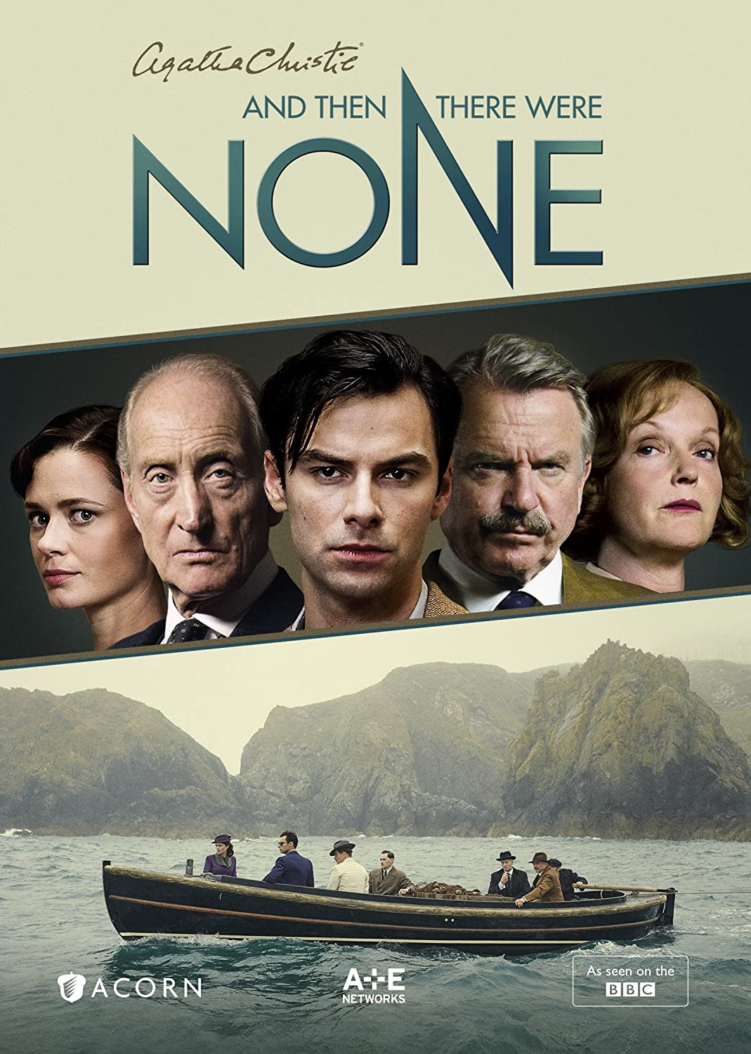 amazoncom and then there were none aidan turner maeve dermody charles dance miranda richardson toby stephens sam neill anna maxwell martin