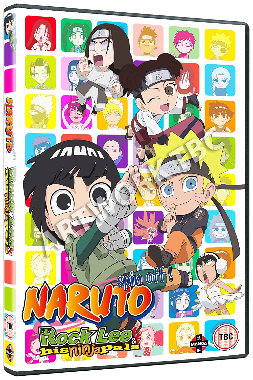 Naruto: Rock Lee and His Ninja Pals Collection 1 Episodes 1 ...