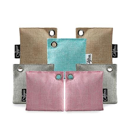 Amazon.com: Paquete de 7 bolsas de purificación de aire de ...