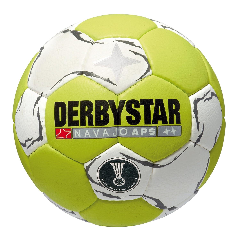 Derbystar Navajo APS - Balón de Balonmano Verde grün/Weiss Talla:2 ...