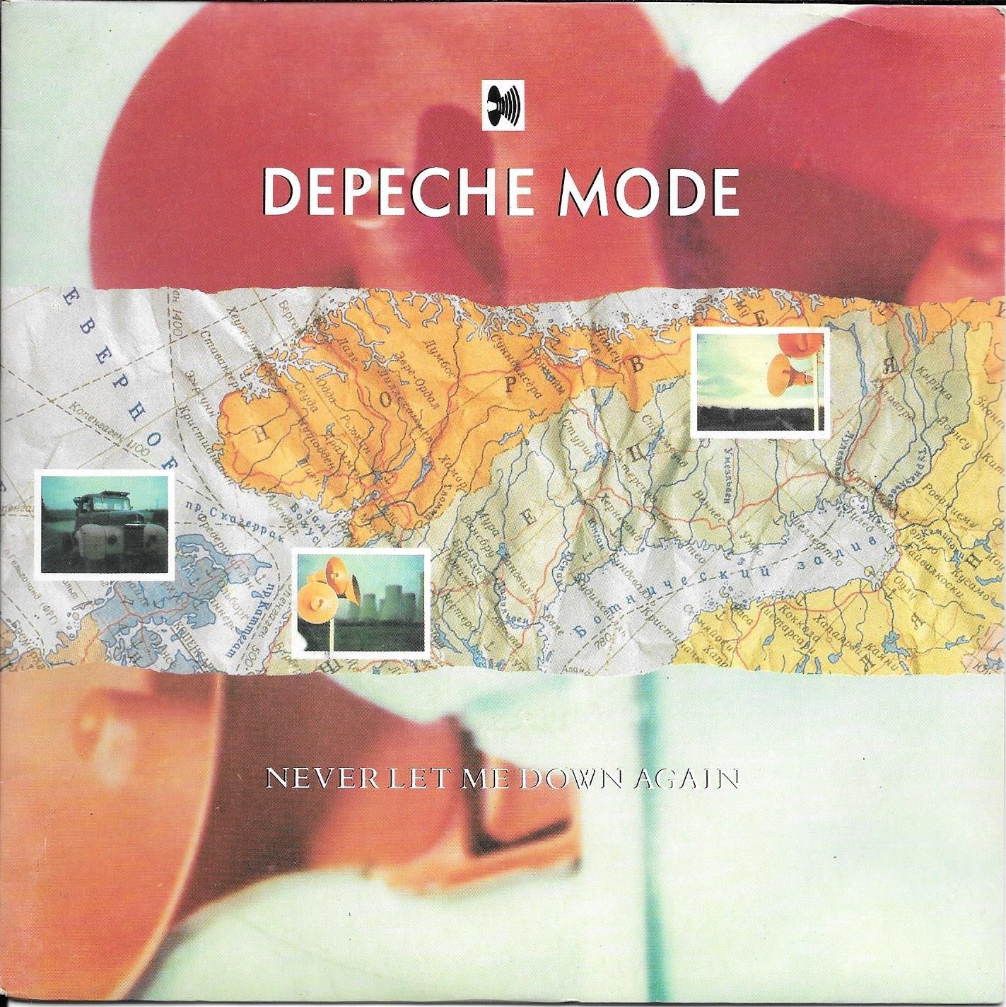 Depeche Mode Never Let Me Down Again 12inch Vinyl Maxi Single Amazon Com Music