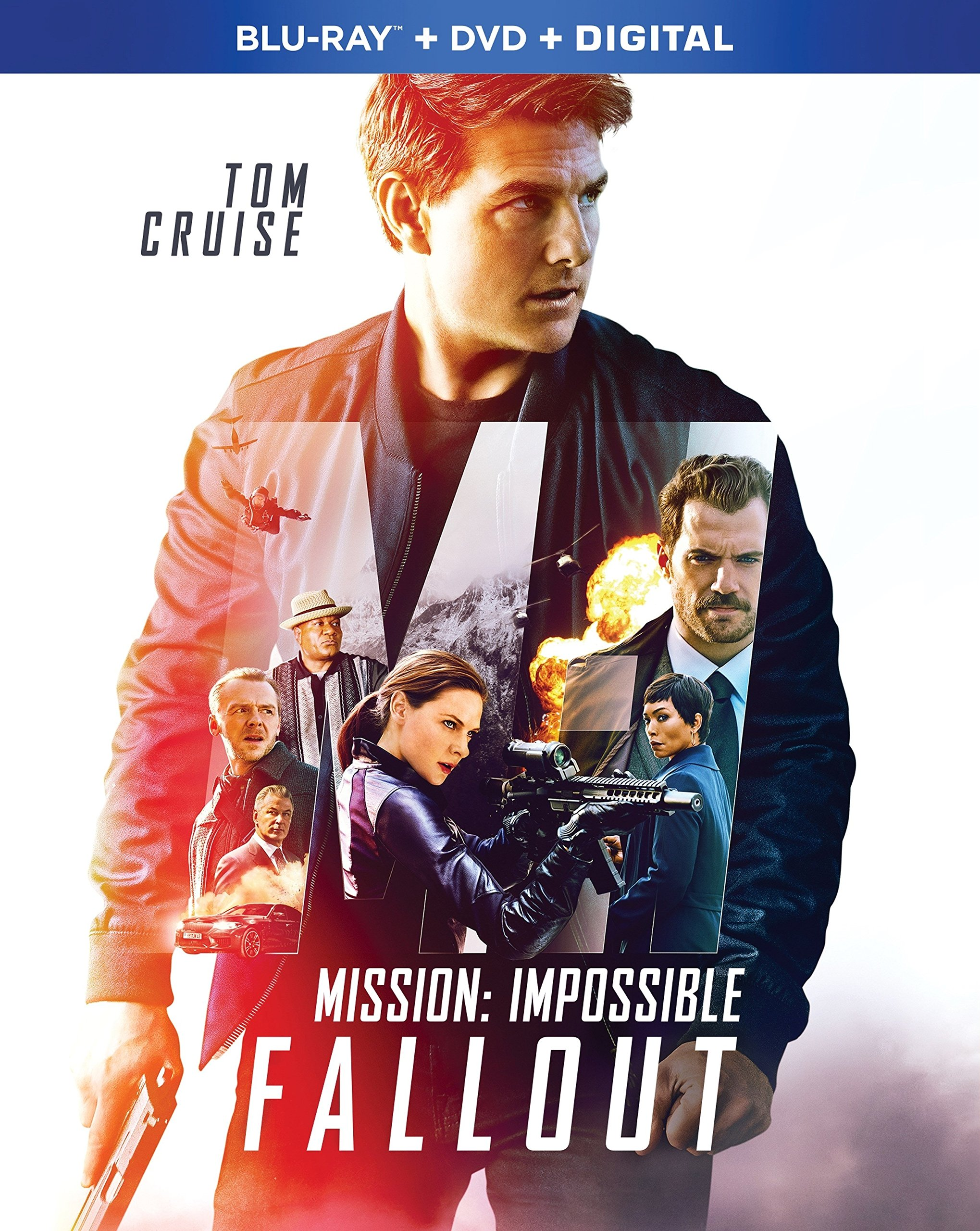 Blu-ray : Mission: Impossible: Fallout (With DVD, 3 Pack, Digital Copy, Dolby, AC-3)