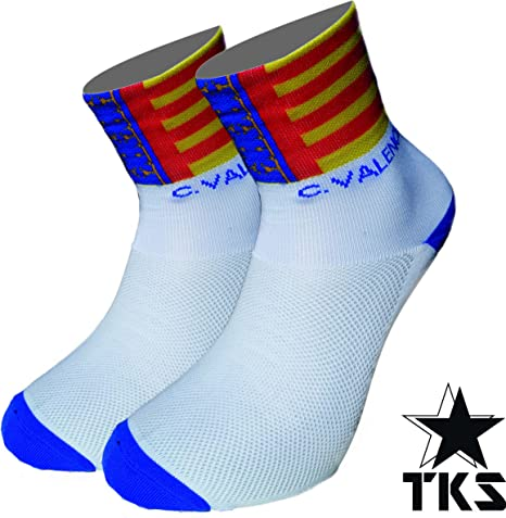 PACK 2 PARES CALCETINES COMUNIDAD VALENCIANA TKS SOFTAIR+ ...