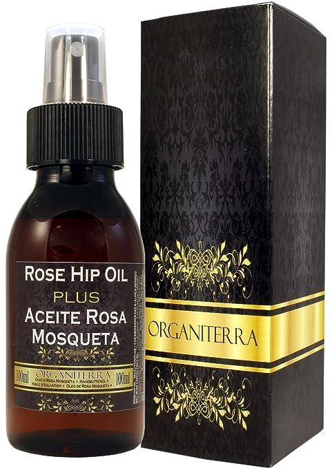 Aceite de Rosa Mosqueta Plus by Organiterra. Unico Aceite de Rosa Mosqueta de Selección Especial