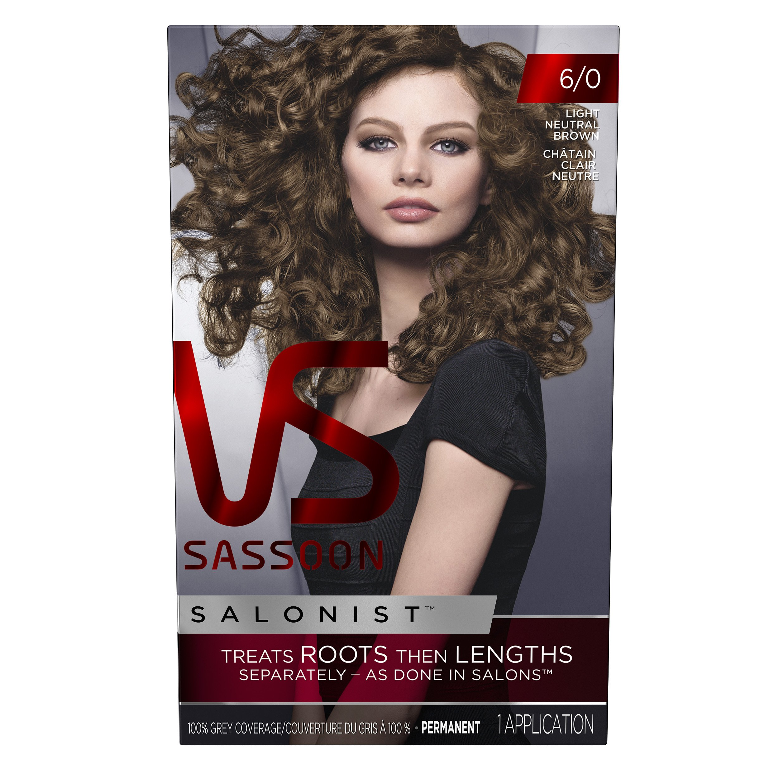 vs sassoon hårfarve