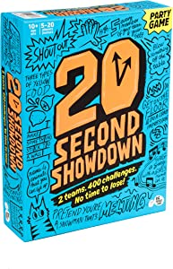 Twenty Second Showdown: A Crazy Quick-Fire Family Game for Kids and Adults