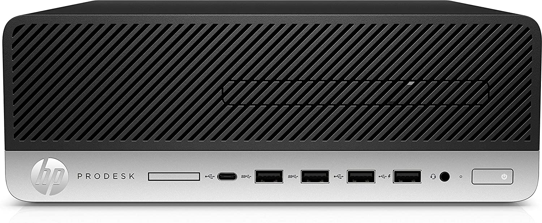 HP ProDesk 600 G5 9th gen Intel® Core™ i5 i5-9500 8 Go DDR4-SDRAM 256 Go SSD Noir SFF PC
