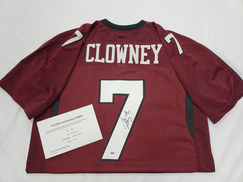 super popular 000c9 67e1e Jadeveon Clowney Signed South Carolina Fighting Gamecocks ...