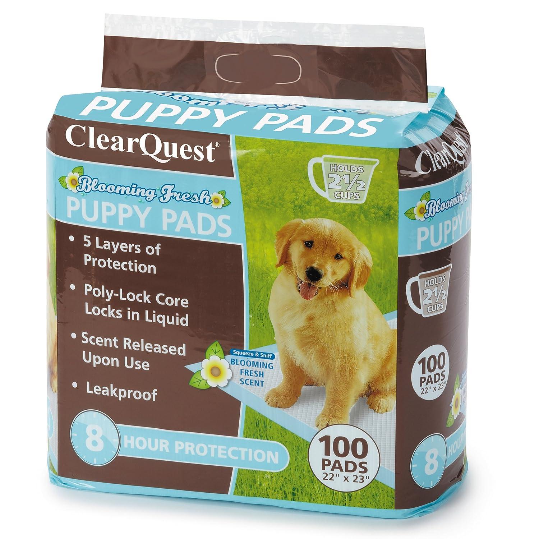 ... 100-Count Bolsa, Hold 2,5 Vasos, Cinco Capas, 8 Horas de protección, con Aroma a atraer Cachorros: Amazon.es: Productos para mascotas