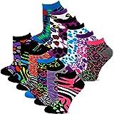 TeeHee Women's Fashion No Show Fun Socks 12 Pairs Packs