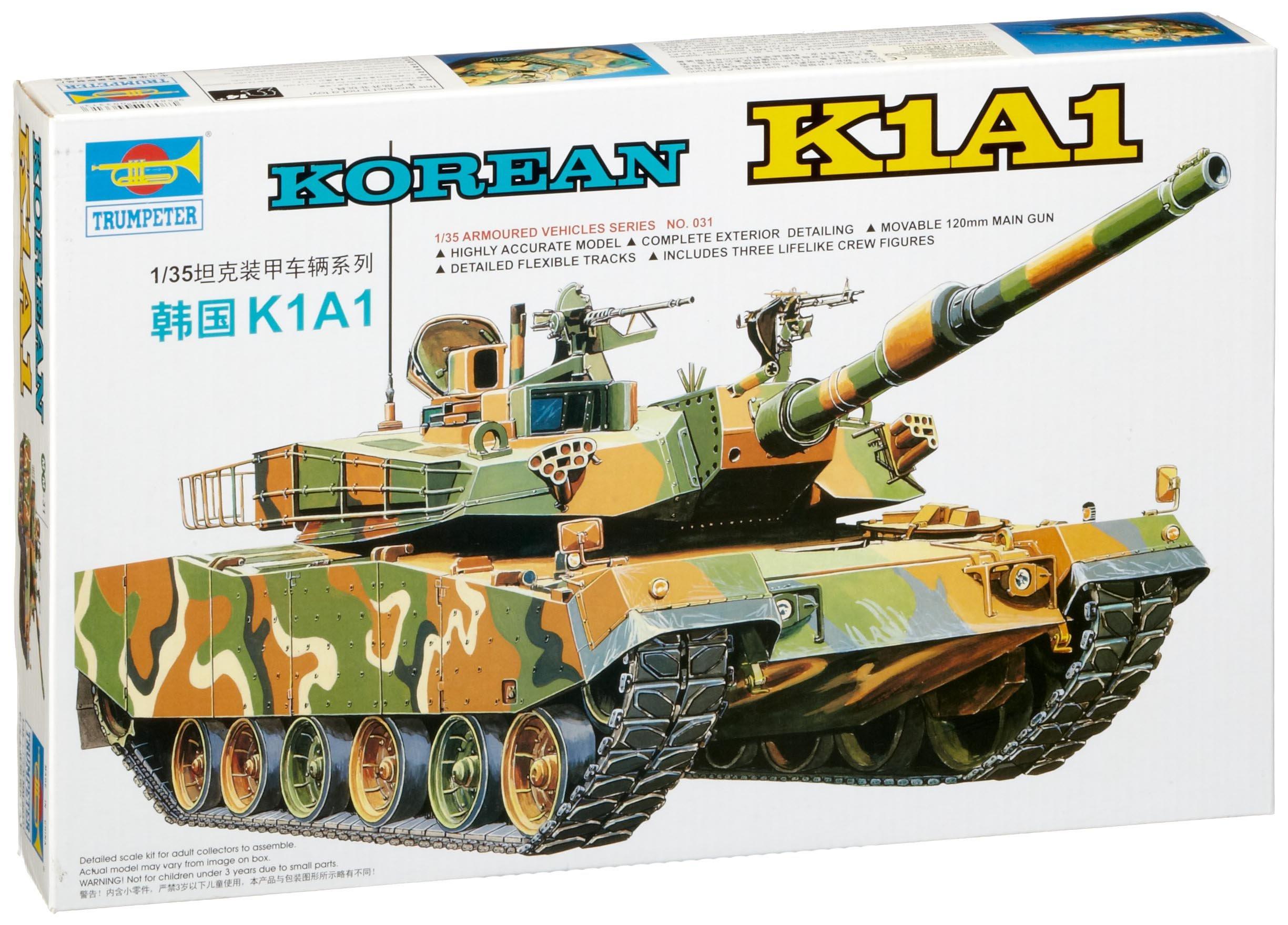 Trumpeter K1A1 Korean Tank Kit