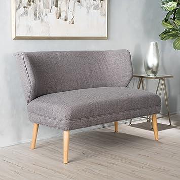 Amazon.com: Dumont, sofá de tela moderna, de mitad de ...