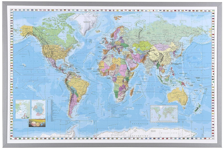 Großzügig Gerahmte Weltkarten Ideen - Benutzerdefinierte ...