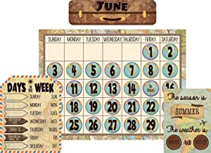 Teacher Created Resources Travel The Map Calendar Bulletin Board (TCR8567)