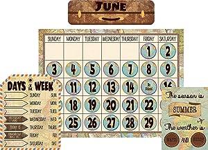 Teacher Created Resources Travel The Map Calendar Bulletin Board (TCR8567)