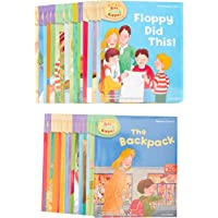 Read with Biff, Chip & Kipper Set Phonics and First Stories 33 Books Collection Level 1-3 [Paperback] [Jan 01, 2015] Roderick Hunt,Alex Brychta