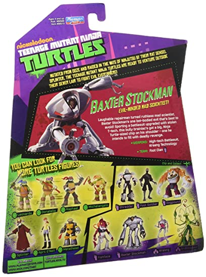 Teenage Mutant Ninja Turtles Baxter Stockman Evil-Minded Mad Scientist.