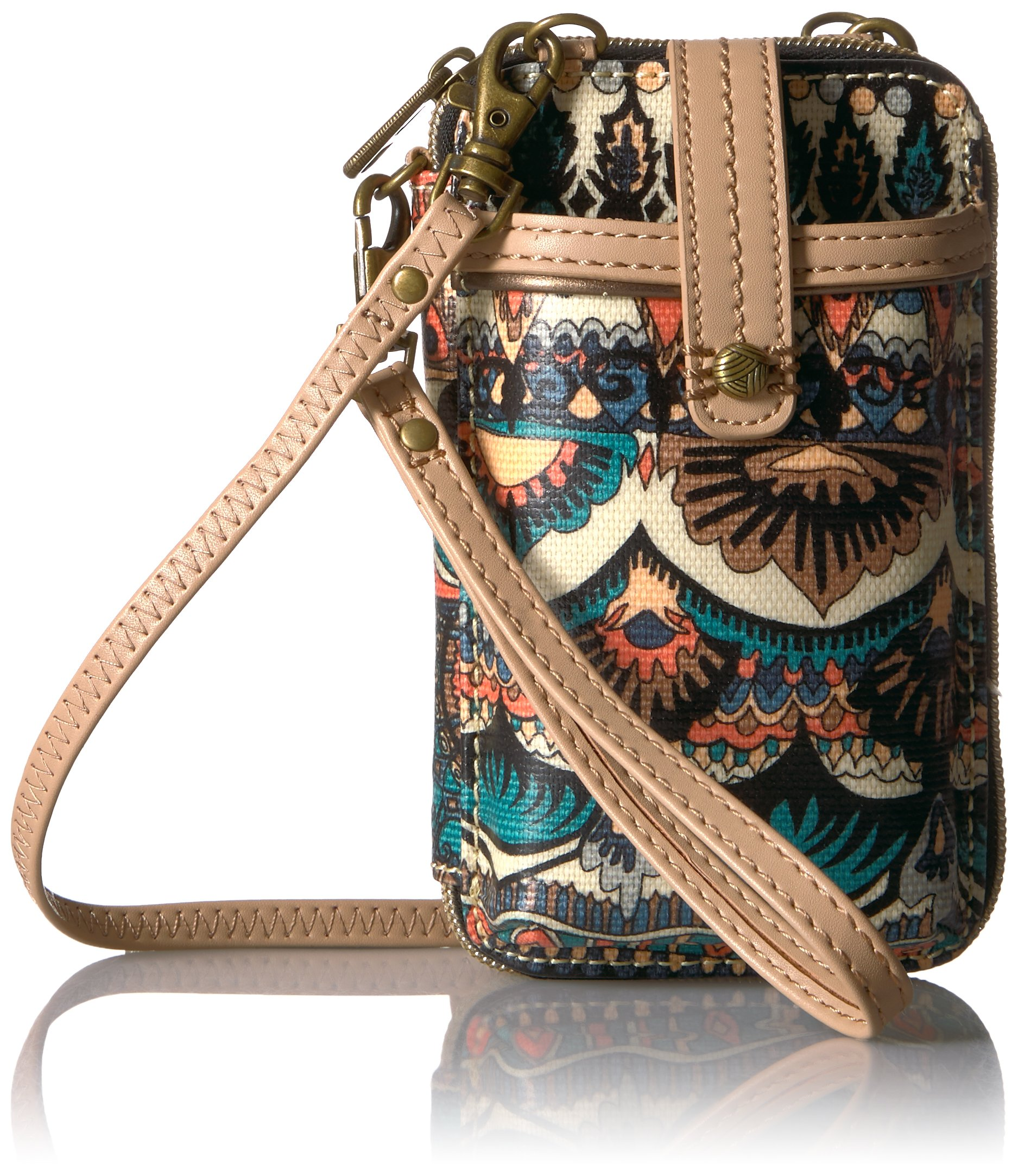 Sakroots Smartphone Wristlet, pacific one world