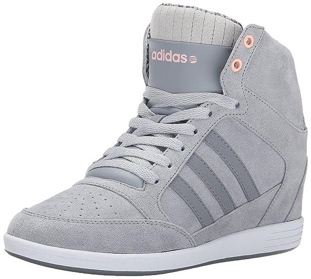 Adidas neo  mujer 's weadidas Neo super zapato de cuña, gris