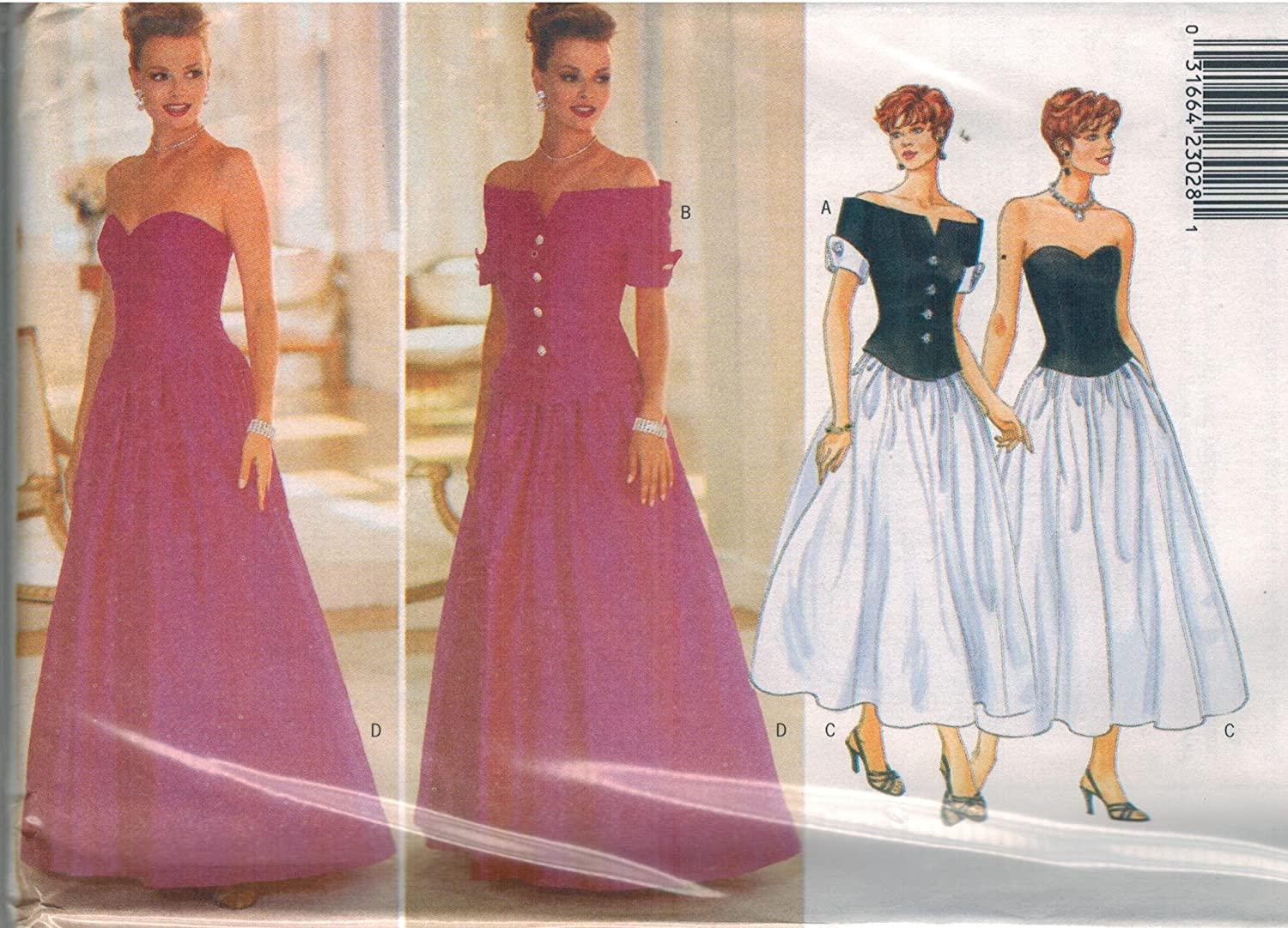 U Pick! Butterick Patterns Misses' Special Occasion//Evening Dresses//Jackets