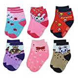 Amazon Price History for:Deluxe Anti Slip Non Skid Slipper Socks with Grips For Baby Toddler Kids Girls
