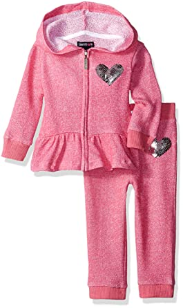 Limited Too Baby Girls 2 Piece Youve Got Heart French Terry Set,