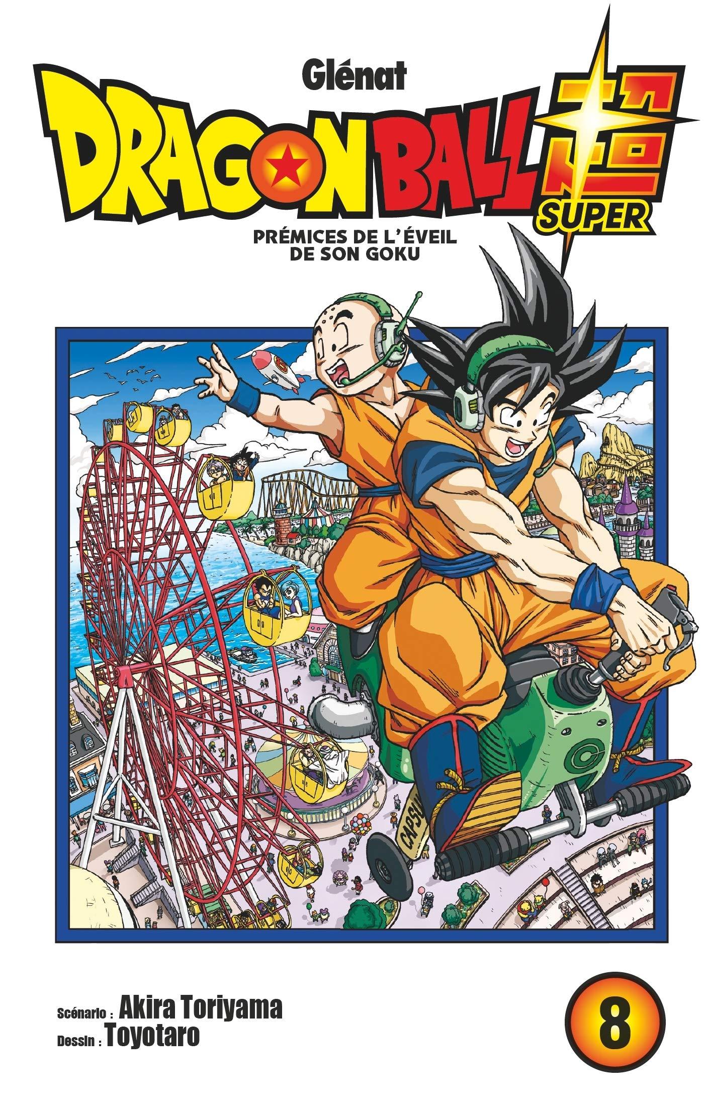 Dragon Ball Super Tome 8   Prémices De L'éveil De Son Goku