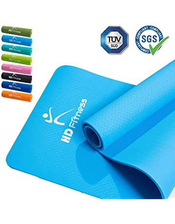 HD Fitness Fitness Yoga Mat, Ideal para Pilates,Yoga, Fitness, Dimensiones:
