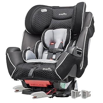 Evenflo Symphony LX Convertible Car Seat Black