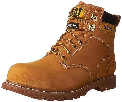 ed30ebde1c7 NEW Mens CAT FOOTWEAR Honey SECOND SHIFT STEEL TOE Work Boot Shoes ...