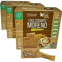 EDULCORANTE MORENO GRANULADO 300 Sobres 100% NATURAL DE CAÑA DULCILIGHT CON MAGNESIO Y FIBRA GUAR | EL SABOR, LA TEXTURA…