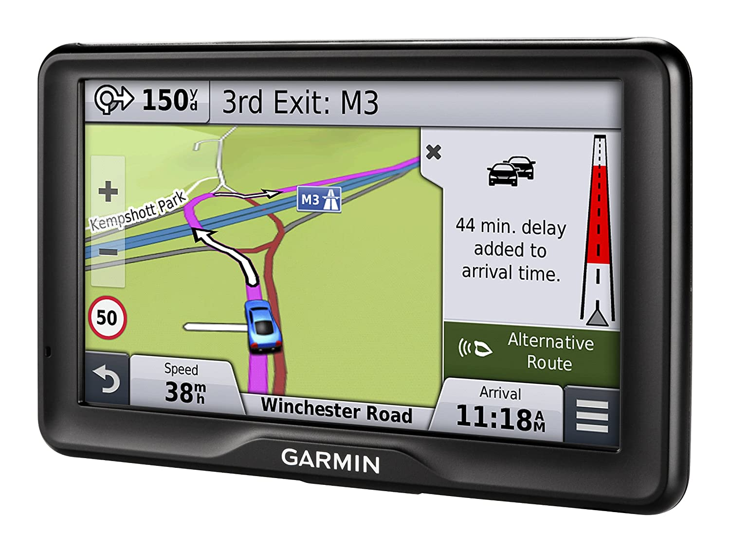 Garmin Nuvi 2798LMT-D 7 inch Satellite Navigation with UK and Full Europe  Maps, Free Lifetime Map Updates, Free Lifetime Digital Traffic Alerts and