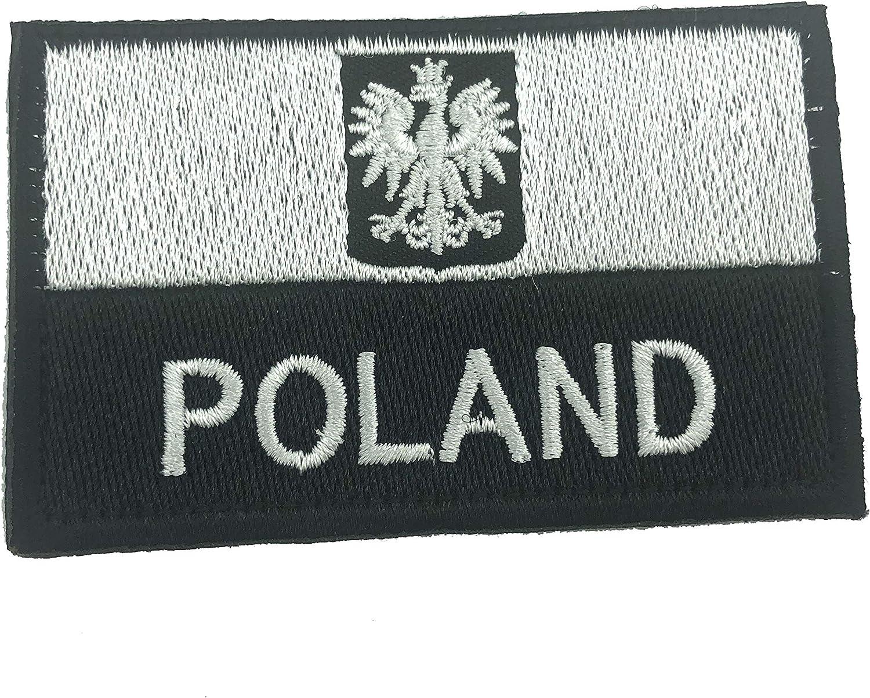 Parche táctico Bordado con Escudo de Polonia polaca para Airsoft, Paintball, Cosplay: Amazon.es: Deportes y aire libre