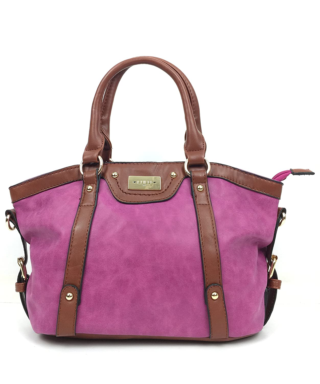 3c06eb3cbd Handbags for Women faux super soft leather Nu Buck Designer handbags tote  bag top handle grab bag with detachable adjustable shoulder bag strap.