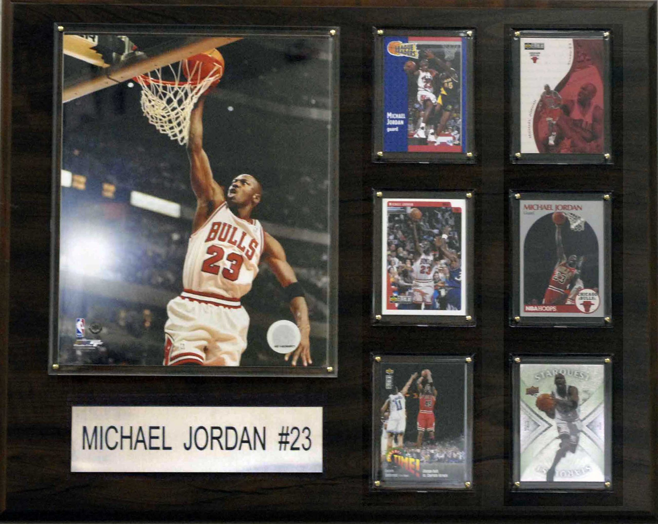 NBA Michael Jordan Chicago Bulls Player Plaque by C&I Collectables