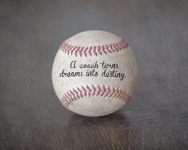 Baseball Quotes | Amazon Com Baseball Coach Gift Sports Home Decor Wall