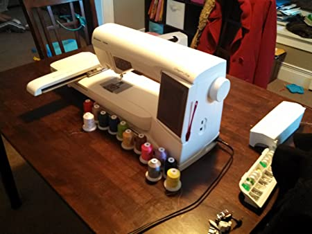 Husqvarna Viking Designer Ruby Deluxe Embroidery Machine Amazonco Enchanting Husqvarna Designer Ruby Sewing Machine