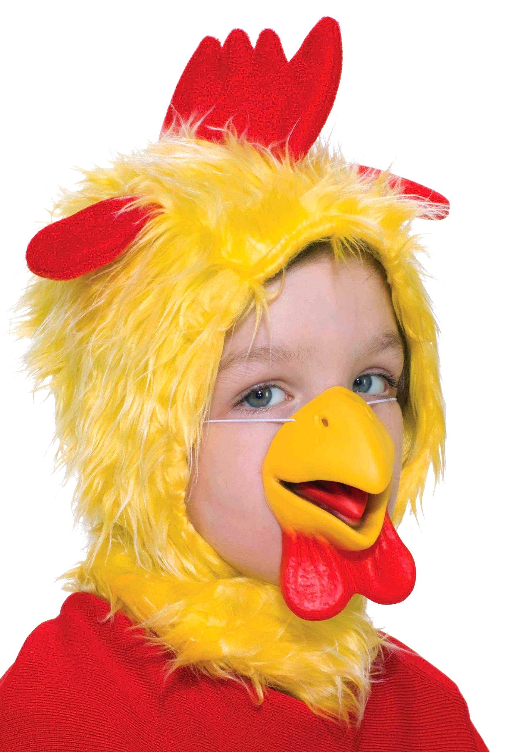 Forum Novelties Child Size Animal Costume Chicken Hood and Nose Mask
