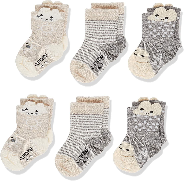 Camano Unisex Baby Socken 6erPack