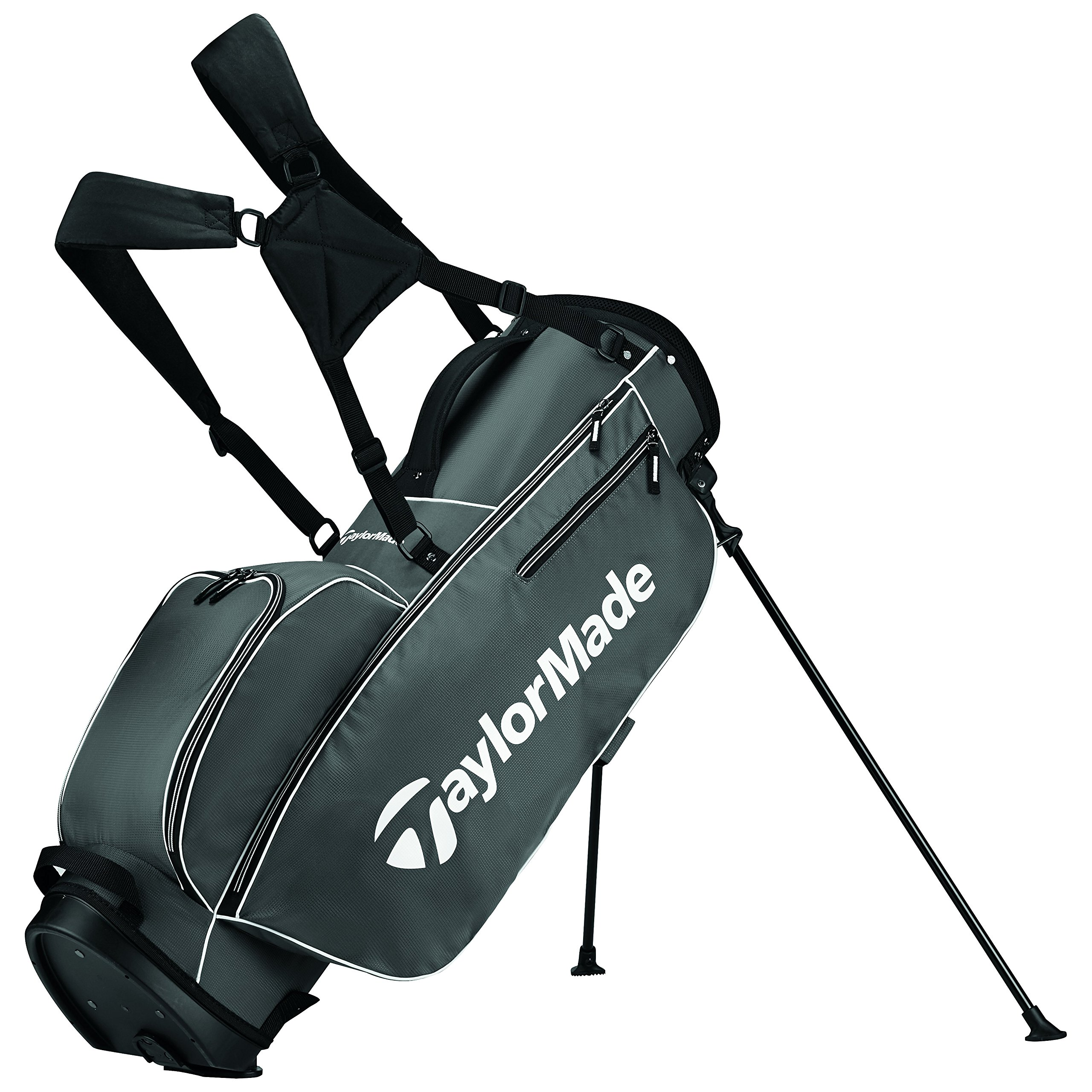 TaylorMade 2017 TM 5.0 Stand Golf Bag, Grey/White by TaylorMade