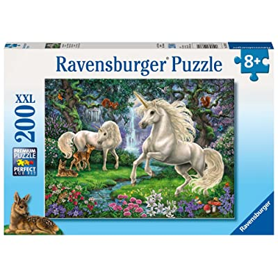 Ravensburger Mysterious Unicorns Jigsaw Puzzle (200 Piece): Toys & Games