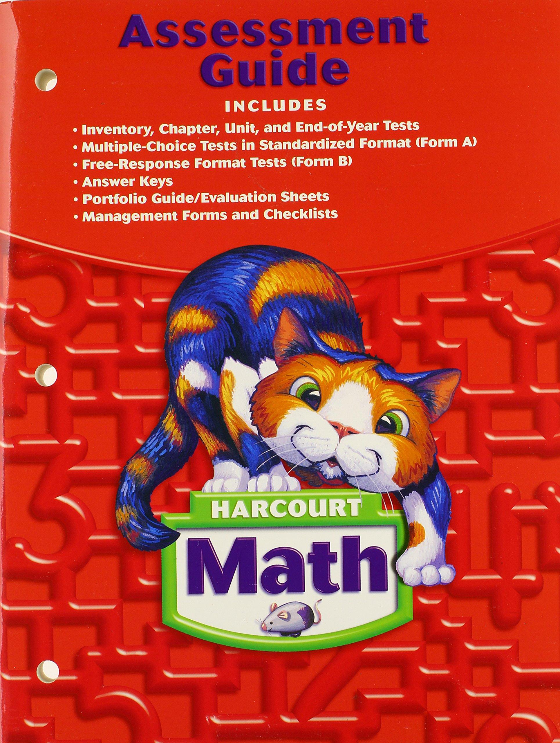 Harcourt Math: Assessment Guide Grade 2: 9780153365386: Amazon.com: Books