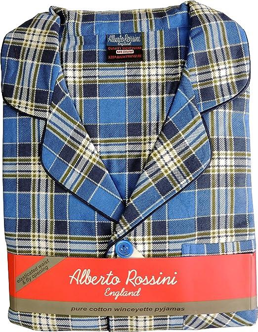 Alberto Rossini - Pijama de Franela de Invierno para Hombre ...
