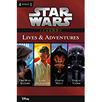 Star Wars:  The Lives & Adventures: Collecting The Life and Legend of Obi Wan Kenobi, The Rise and Fall of Darth Vader, A New Hope: The Life of Luke Skywalker, ... Junior Novel (ebook)) (English Edition)