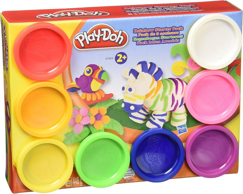 Hasbro Play-Doh Rainbow Starter Pack - Modeling Dough (Cualquier ...