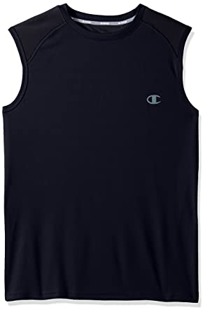 8429bced2d95b Champion Men s Double Dry Select Muscle Tee with FreshIQ at Amazon Men s  Clothing store